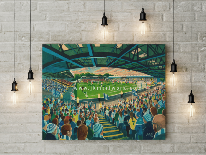 gigg lane  canvas a2 size